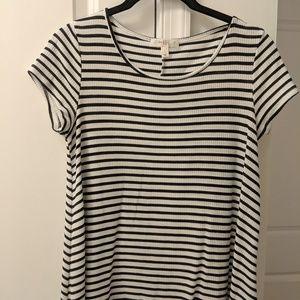 Love, Fire - Striped Dress
